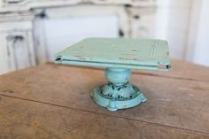 Heritage Cake Stand | The Magnolia Market only maybe in the charcoal
