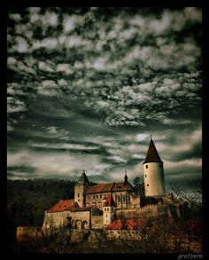 Zamek Krivoklat już chyba ostatnie :] Castle Krivoklat in Czech Republic, near Prague.