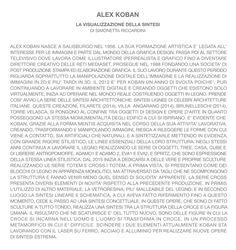 ALEX KOBAN LA VISUALIZZAZIONE DELLA SINTESI di Simonetta Riccardini