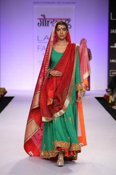 Gaurang Lakme Fashion Week S/R 2014. Wardrobe fashion indian couture wedding bridal inspiration ideas| Stories by Joseph Radhik
