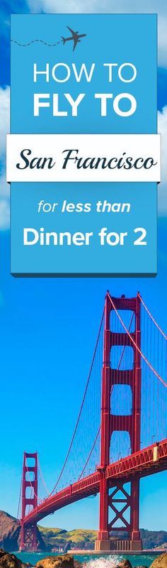 Find the cheapest flights to San Francisco!  Airfarewatchdog helps you save money when you book your next flight - so you always get the best deal.