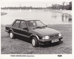Ford Orion Ghia Injection (UK, 1985)