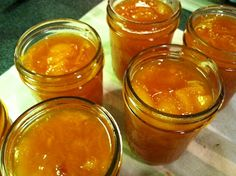 Gingered Peach Marmalade Recipe - SB Canning