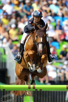 Penelope LEPREVOST FLORA DE MARIPOSA during the Jumping Team Final on Day 11 of…