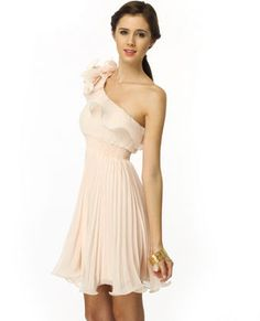 this would be a cute bridesmaid dress in pewter or gray.....