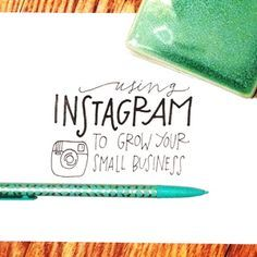 A interesting blog post on how to use Instagram to grown your small business! http://www.brimpapery.com/blog/2014/3/29/instagram-for-your-business Credits to Brim Papery Learn