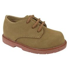 Toddler Boy's Natural Steps Clay Canvas Shoe - Tan