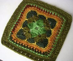 Good Colors! Ravelry: Project Gallery for Granny Square 1 pattern by Leisure Arts