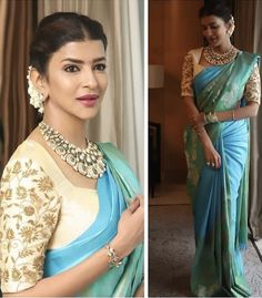 Saree Blouse Patterns, Saree Blouse Designs, Blouse Styles, Indian Designers, Indian Designer Wear, Simple Embroidery Designs, Embroidery Blouses, Best Blouse Designs, Maggam Work Designs