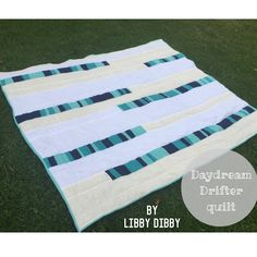 Daydream Drifter Free Quilt Pattern by Libby Dibby @libbydibby in Embrace double gauze