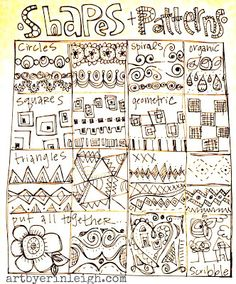 Art by Erin Leigh: 31 Days of Scripture Art Journaling:: Day 3: Pattern Play