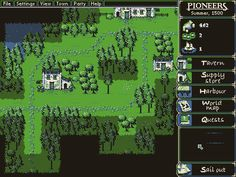 Pioneers from Eigen Lenk. Latest build up to play on Indie DB