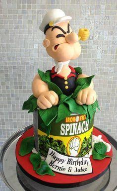 Popeye Cake
