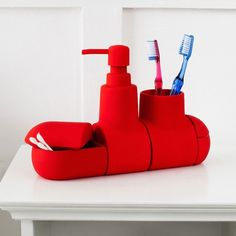 Buy Seletti Submarino - Red from our Bathroom & Shower Storage range at Red Candy, home of quirky decor.