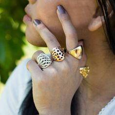 Get different designs of rings at best prices for females.