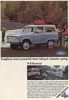 Old Ford Bronco, Early Bronco, Classic Bronco, Classic Ford Broncos, My Dream Car, Dream Cars, Old Fords, Ford Motor Company, Ford Ranger