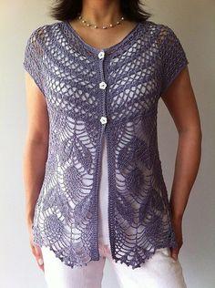 Jamie - short sleeve vest