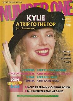Kylie & Gary Glitter on the Front & Back Cover's. Number One Magazine. Kylie Minouge, Natalie Imbruglia, Joey Tempest, Ll Cool J, Pet Shop Boys, Debbie Gibson, Band Aid, Hit Songs, Pop Singers