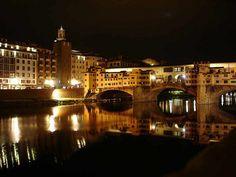 Pontevecchio, Florence - view from restaurant Borgo San Jacopo (the terrace)