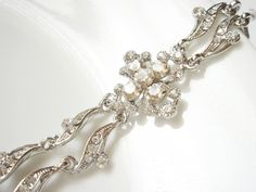 Avidita Vintage Style Diamond CZ Bracelet