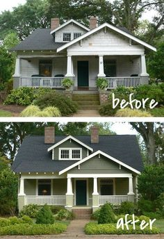 Nice  20 Residence Exterior Makeover Earlier than and After Concepts - House Tales A to Z