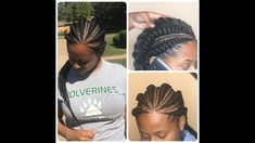 Feed-In Braid Tutorial Step by Step (Beginner Friendly) - Black Hair Information - Frisuren Cool Braid Hairstyles, Braided Hairstyles Tutorials, African Hairstyles, Trendy Hairstyles, Easy Hairstyle, Hair Tutorials, Hairstyle Ideas, Hairdos, Braids Step By Step