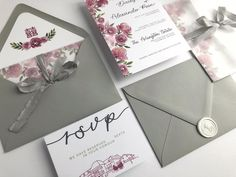 Moody florals, venue illustrations, vellum wrap tied with hand dyed silk ribbon, tucked in a custom envelope liner and sealed with a custom wax seal. Happy Lunar New Year, Custom Envelopes, Dyed Silk, 1920s Wedding, Envelope Liners, Custom Wedding Invitations, Wax Seals, Silk Ribbon, Florals