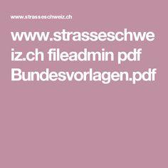 www.strasseschweiz.ch fileadmin pdf Bundesvorlagen.pdf