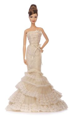 Happy Birthday, Barbie! See the 10 Chicest Barbies of All Time.  Vera Wang Barbie.