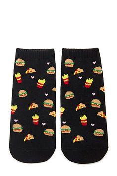 Fast Food Ankle Socks
