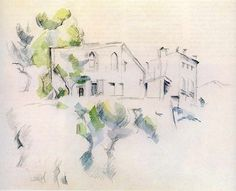 Paul Cézanne - Sketch of a house