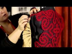 Reuse: Lace top from table cloths (video howto)