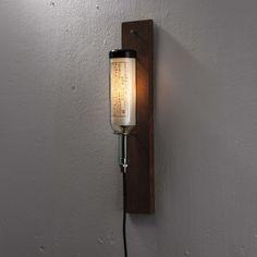 Wine Bottle Lamp by John Meng: Mr C