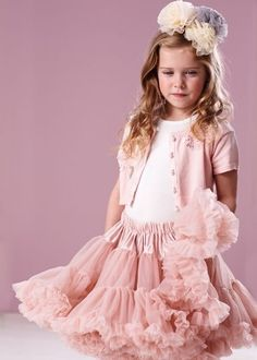 137a7dd695944d Tutu Skirt Kids, Frill Tops, Petticoats, Stylish Kids, Flower Girl Dresses,