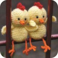 crochet chicken easter amigurumi