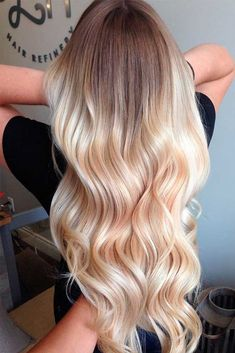 60 Most Popular Ideas for Blonde Ombre Hair Color Here are adorable blonde ombre hair styles in different tones: from ash to black to bold colorful locks! Get ready to make a statement with these fresh new ombre hairstyles! http://glaminati.com/ideas-for-blonde-ombre-hair/ #Ombrehair