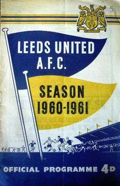 Leeds United v Everton 1960-61 match programme, friendly match