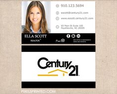 Realtor business cards business cards for real estate agents century 21 business cards realtor reheart Images