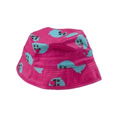 Pink+Dolphin ($45) ❤ liked on Polyvore featuring accessories, hats, bucket hats, dolphins hat, fisherman hat, pink dolphin hats, bucket hat and fishing hat