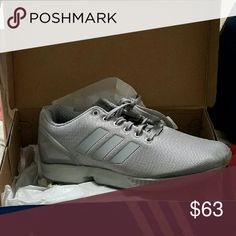 c837114b65598 ... Adidas Originals ZX FLUX Grey Adidas Originals ZX FLUX Grey New without  tags Never worn Selling ...