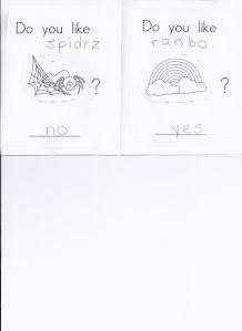 Kindergarten Do you like book