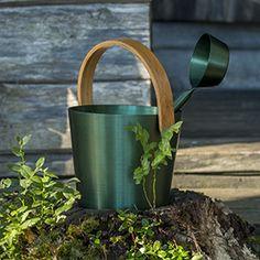 Rento Sanko ja kauha, väri:  kataja / Rento sauna pail and ladle, color: juniper