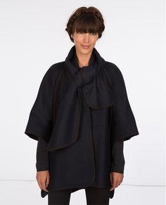 Capa de lana y lurex   Cazadoras y abrigos   Comptoir des Cotonniers