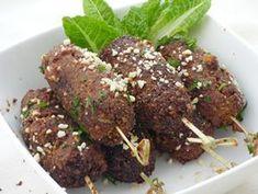 Napraforgó kolbászkák grillfűszeres mázzal recept Meatloaf, Sausage, Food And Drink, Veggies, Vegetarian, Beef, Paleo, Vegan, Meat