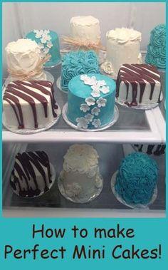 How to make Mini Cakes by TiffLyricz21