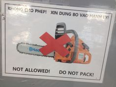 Dang Airlines are Strict