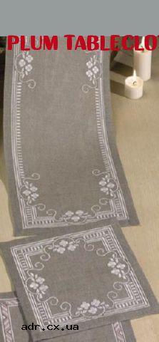 plum tablecloth