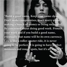 Patti Smith ~ Advice to the Young Wise words. Spoken at the Louisiana Literature Festival in Great Quotes, Quotes To Live By, Inspirational Quotes, Super Quotes, Motivational Quotes, Patti Smith Quotes, Patti Smith Poetry, Will Smith Quotes, Emotion
