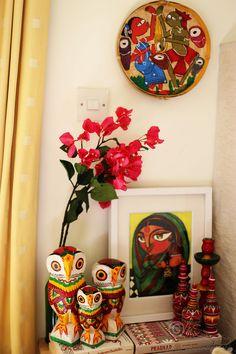 Colour splash... | The Bengali corner showcasing the fine ar… | Flickr