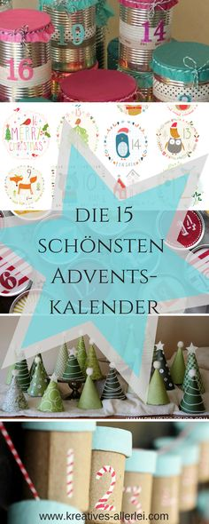 The most beautiful advent calendar / Advent / Christmas / DIY - Xmas Easy Diy Christmas Gifts, Christmas Deco, All Things Christmas, Winter Christmas, Christmas Time, Christmas Crafts, Diy Advent Calendar, Advent Calenders, German Christmas